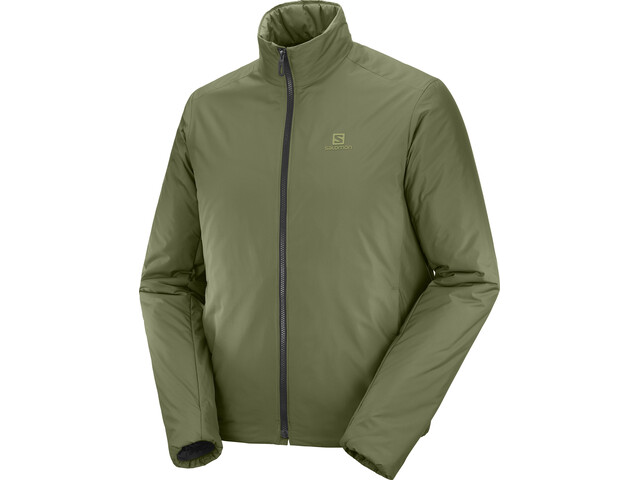 Salomon Outrack Insulated Veste Homme, olive night